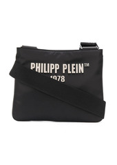 Philipp Plein logo-patch shoulder bag