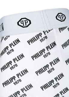 Philipp Plein logo print boxer shorts
