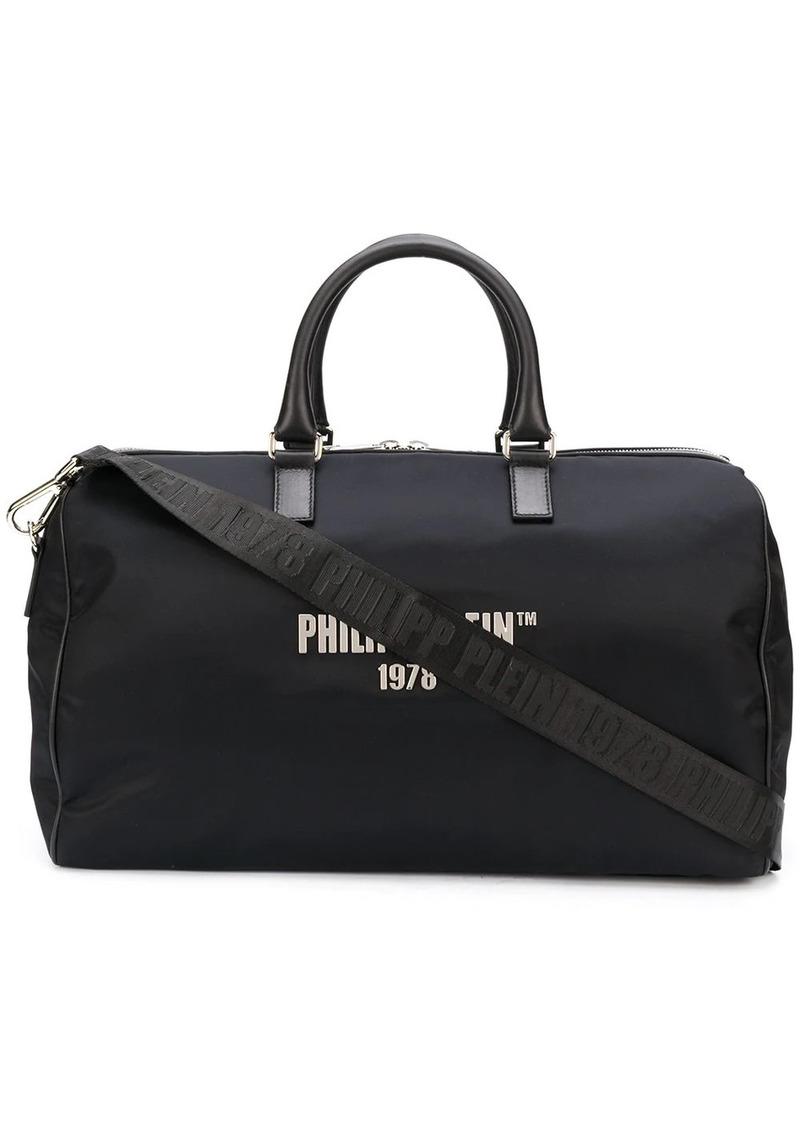 Philipp Plein logo-print holdall bag