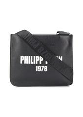 Philipp Plein logo-print messenger bag