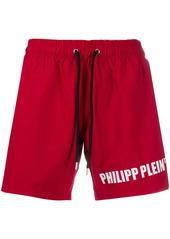 Philipp Plein logo print shorts