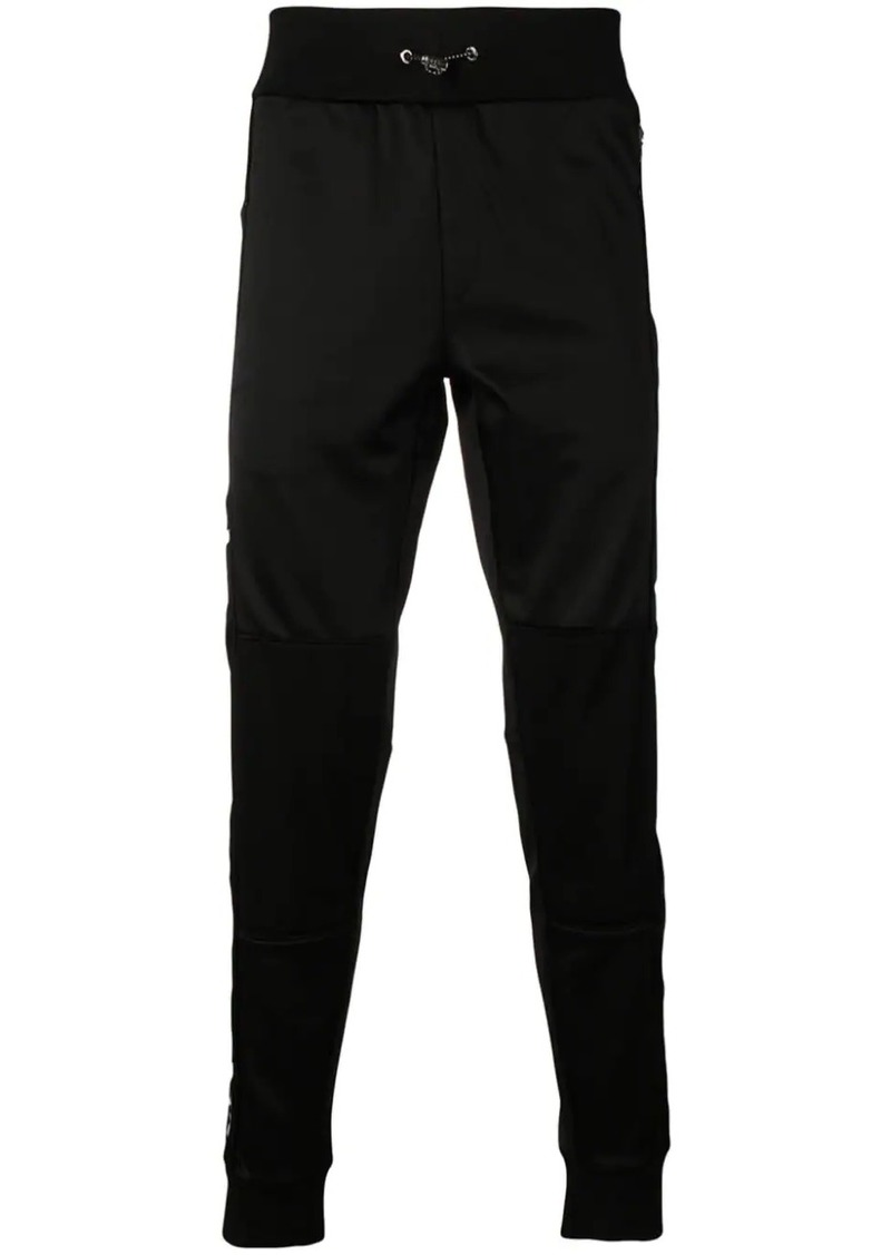 Philipp Plein logo stripe track trousers