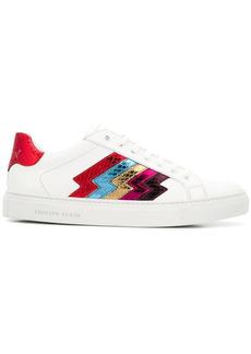 Philipp Plein low-top metallic stripe sneakers