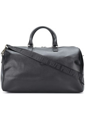 Philipp Plein matte leather holdall bag