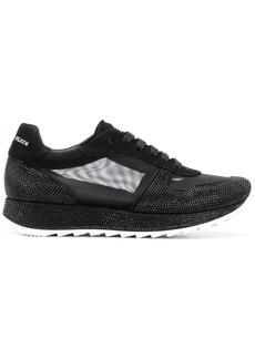Philipp Plein mesh panel lace-up sneakers