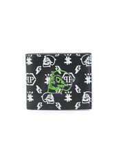 Philipp Plein monogram print wallet