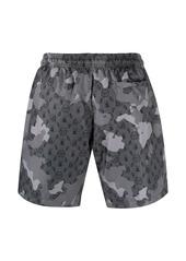 Philipp Plein monogram swim shorts