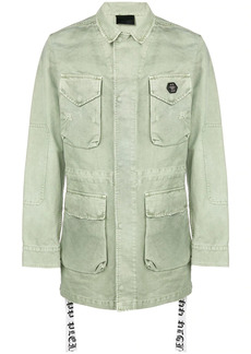 Philipp Plein multi-pocket parka