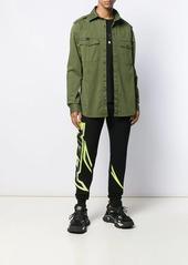 Philipp Plein neon printed track pants