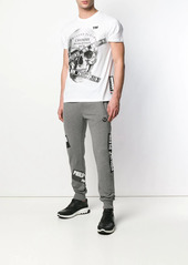 Philipp Plein patched joggers