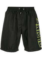 Philipp Plein Plein Star drawstring swim shorts