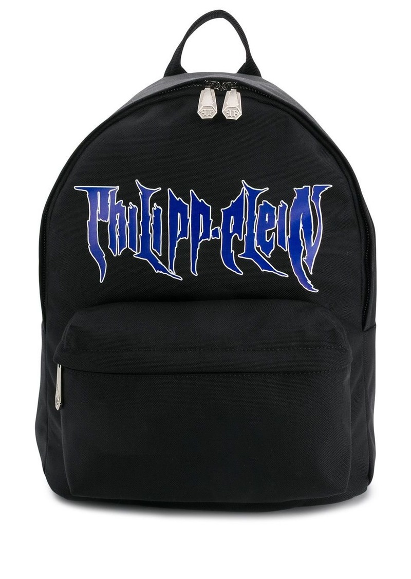 Philipp Plein printed logo backpack