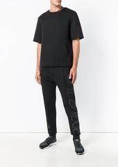 Philipp Plein rhinestone logo track pants