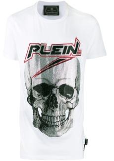 Philipp Plein rhinestone skull T-shirt