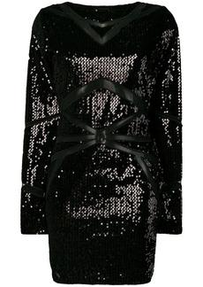 Philipp Plein sequinned mini dress
