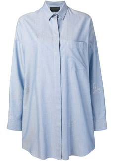 Philipp Plein short shirt dress