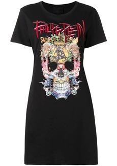 Philipp Plein short sleeved T-shirt dress