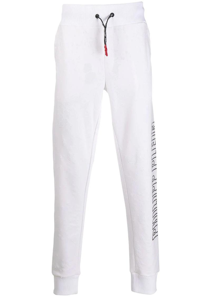 Philipp Plein side logo track pants