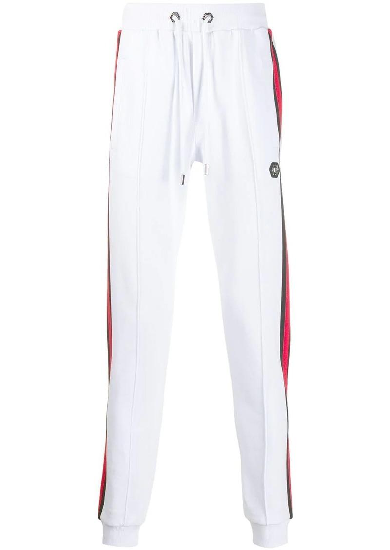 Philipp Plein side stripe track pants