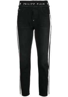 Philipp Plein side stripe trousers