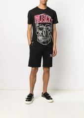 Philipp Plein skull crystal-embellished track shorts