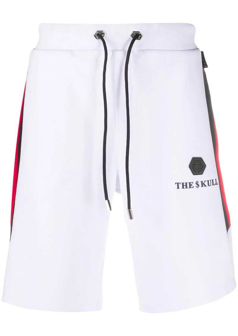 Philipp Plein Skull jogging shorts