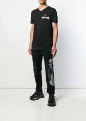 Philipp Plein skull logo track pants