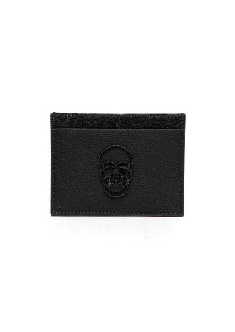 Philipp Plein skull-plaque cardholder