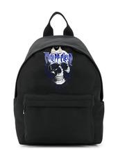 Philipp Plein skull print logo backpack