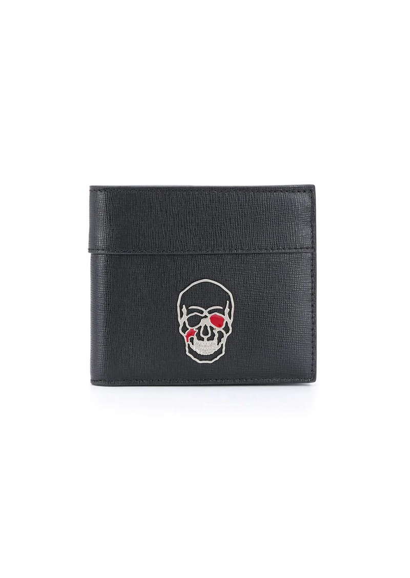 Philipp Plein skull print wallet