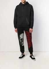 Philipp Plein Skull rhinestone track pants