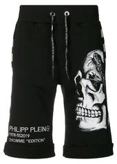 Philipp Plein skull sweat shorts