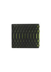 Philipp Plein snake-effect leather wallet