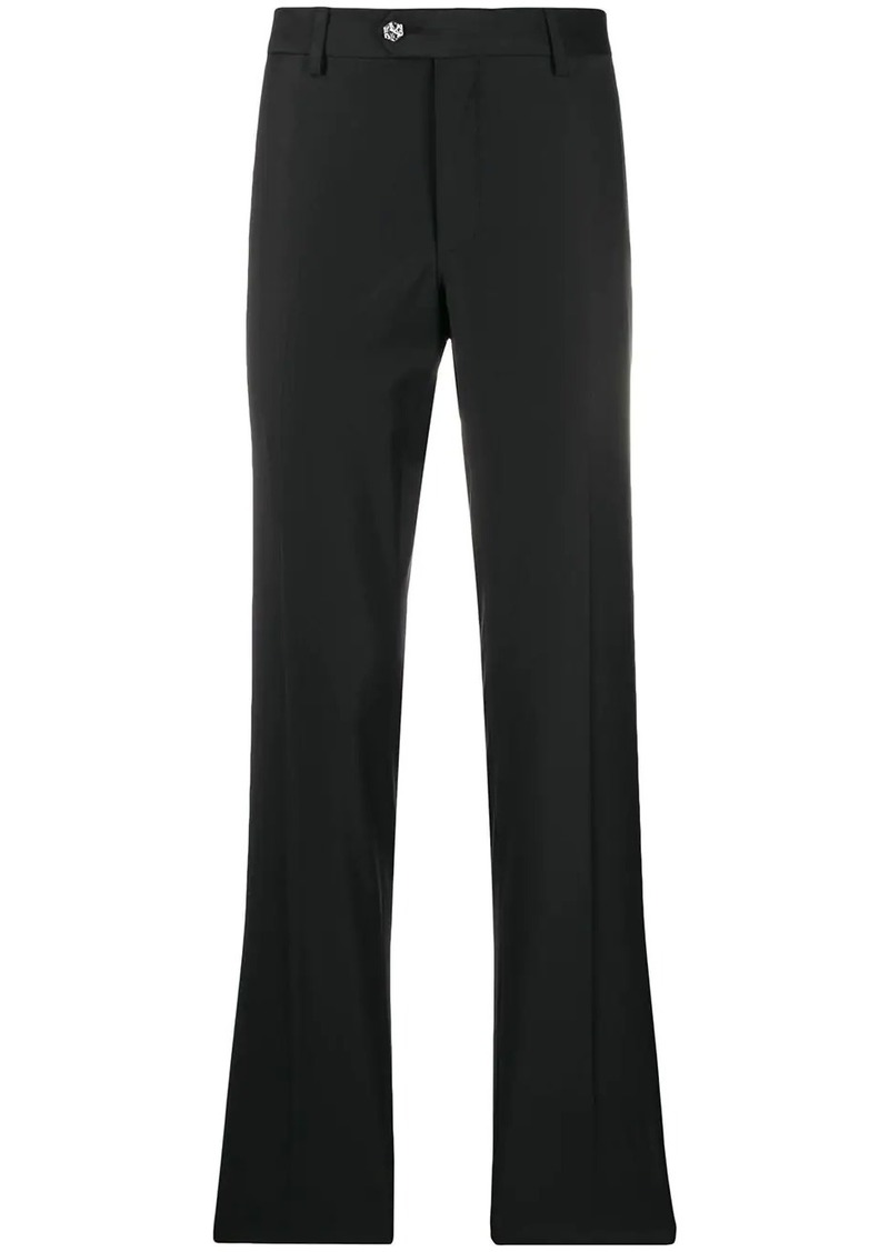 Philipp Plein star button high waist trousers