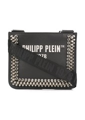 Philipp Plein studded logo crossbody bag