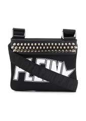 Philipp Plein studded logo shoulder bag