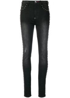 Philipp Plein studded trim skinny jeans