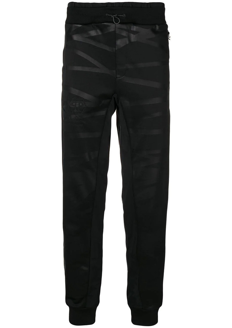 Philipp Plein XYZ Skull and Plein track trousers