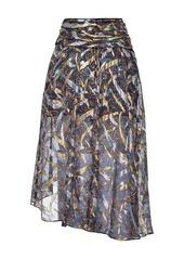 Pinko abstract pattern skirt