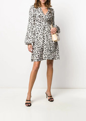 Pinko animal print midi dress