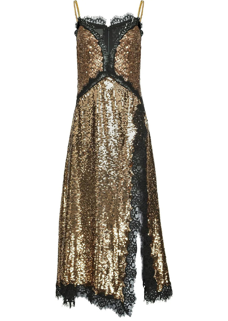 Pinko antique sequin dress