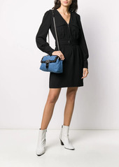 Pinko belted cargo dress