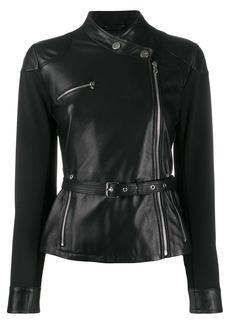 Pinko belted slim-fit jacket
