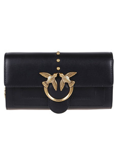 Pinko Black Leather Wallet