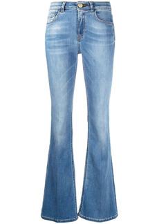 Pinko high-rise boot-cut jeans