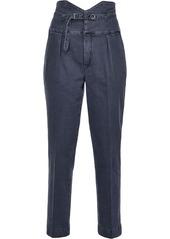 Pinko bustier-style high-waist jeans