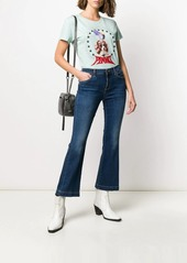 Pinko cropped flared jeans