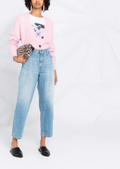 Pinko cropped loose-fit jeans