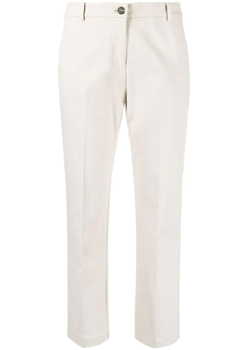 Pinko cropped low-rise trousers
