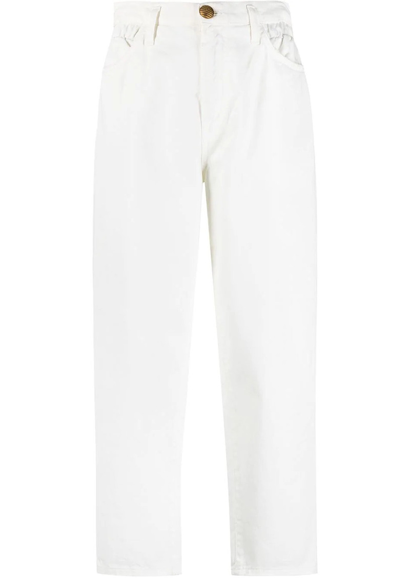 Pinko cropped straight-leg jeans
